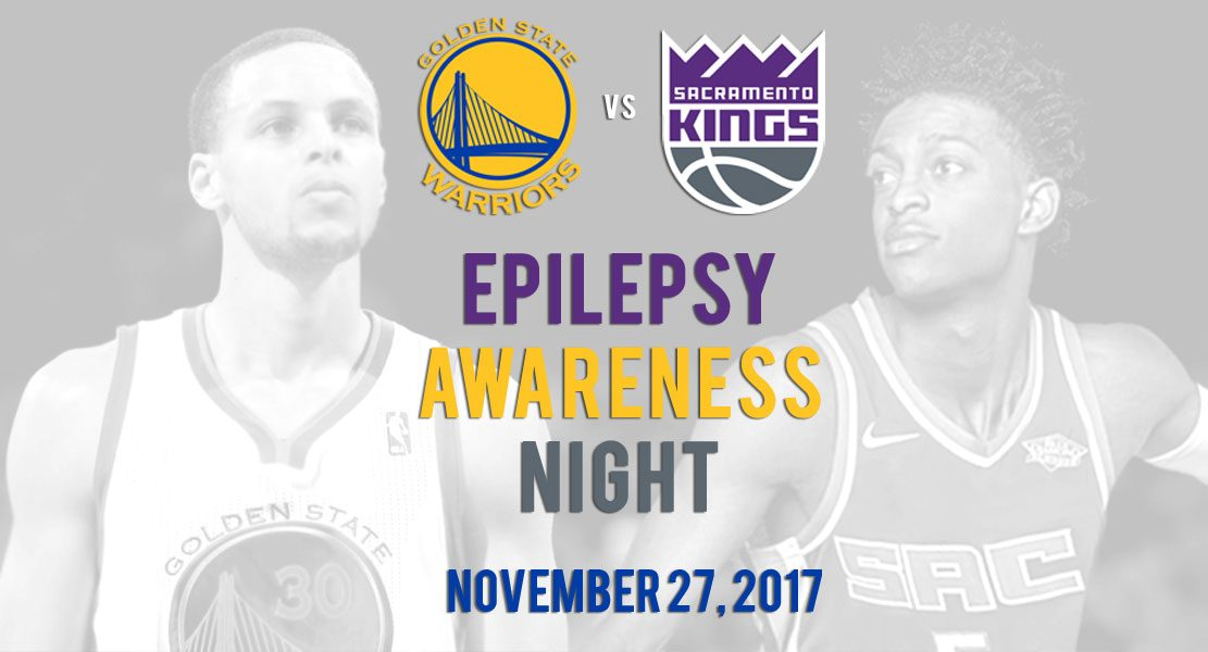 NBA Warriors Kings Epilepsy Awareness Night